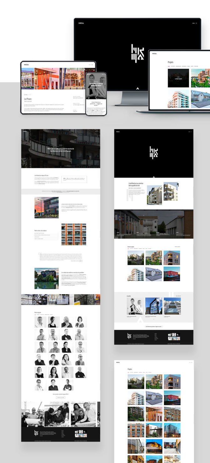 Site internet mr3a-architectes.fr