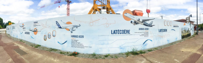 Palissade LATECOERE ICADE PROMOTION Toulouse DVN Communication