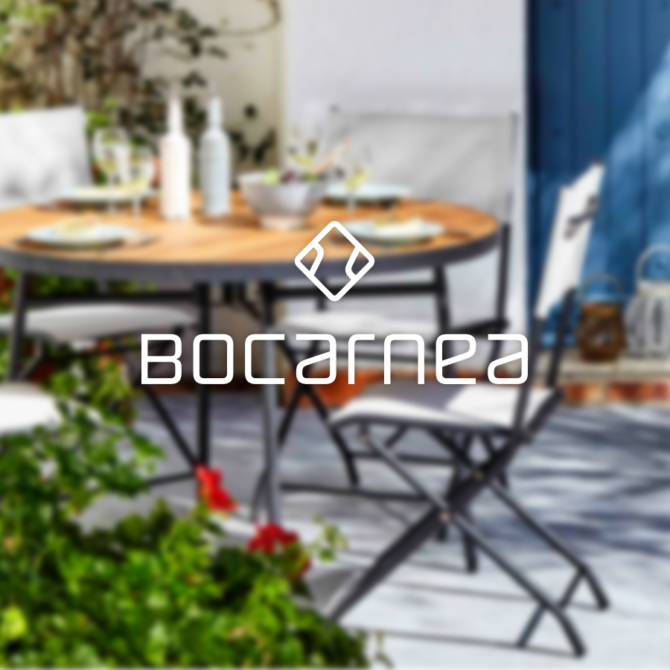 Catalogue de mobilier de jardin Bocarnea