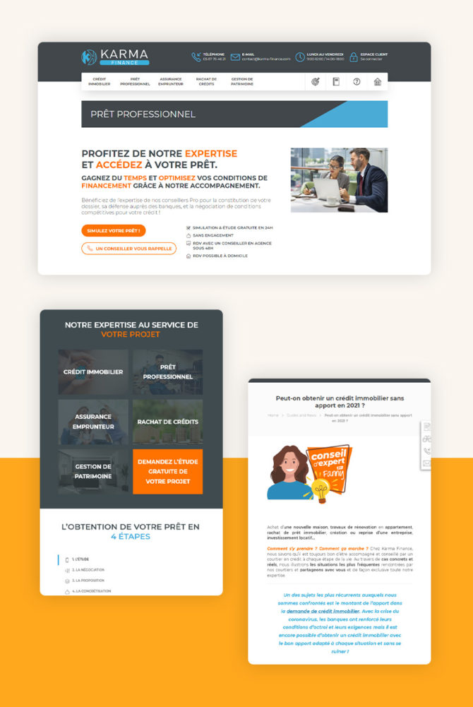 Site internet karma-finance.com