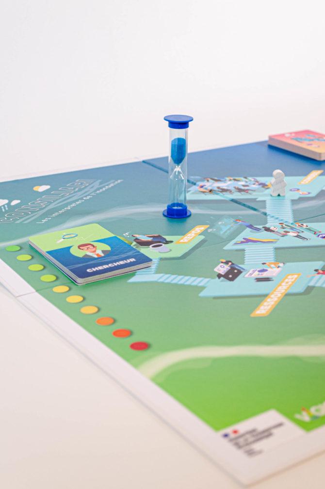 Boîte de jeu CONSILIARI pour le Ministère de la Transition Écologique et VIGICRUES